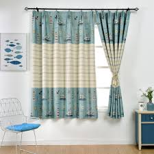 Boys Window Short Curtains For Children Room Half Shade High Quality Drapes For Living Room Kids Bedroom Curtains Aliexpress