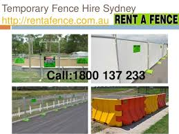 Temporary Fence Hire Sydney