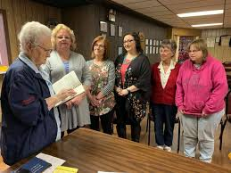 Past President Adeline Mitchell conducts... - American Legion Auxiliary  Unit 41 Glasgow | Facebook