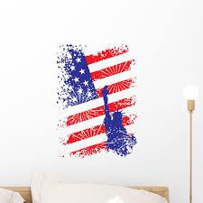 Patriotic Liberty Usa Wall Decal Wallmonkeys Com