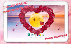احبك Gif حب خلفيات متحركة مع صوت For Android Apk Download