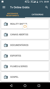 Assistir Tv Online Grátis for Android - APK Download