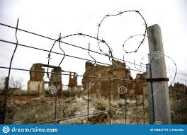 Wire Fencing Editorial Photo Image Of Fencing Boundary 166421791