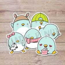 Cute Penguins Stickers Gladys P Nut
