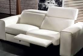 lovely natuzzi sectional sofa white