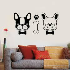 Cute Pets Vinyl Wall Decal Decor Pet Salon Couple Dogs Animals Grooming Nursery Wall Stickers Modern Home Decoration Art Floral Wall Decals Floral Wall Stickers From Joystickers 9 95 Dhgate Com