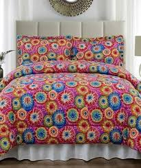 karin maki purple tie dye comforter and