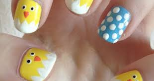 maybe going to do this. | Easter nail art designs, Easter nails, Easter  nail art