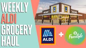aldi grocery haul for ww freestyle