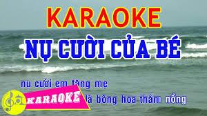 Nụ Cười Của Bé Karaoke |
