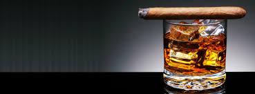 blend bar with davidoff cigars
