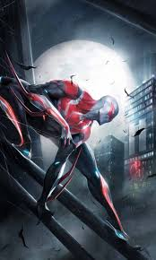 spider man 2099 white suit wallpapers