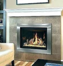 fireplace insert glass door replacement