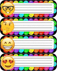 Pin De Nydia Deleon En Emojis Classroom Decoracion De Emojis