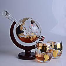 1000ml thickened gold whiskey globe
