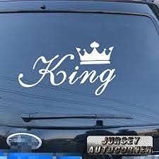 Jursey Auto King Crown Gold Silver White Black