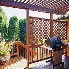 The Best Deck Railing Designs And Ideas Deck Railing Design Lattice Deck Privacy Screen Deck