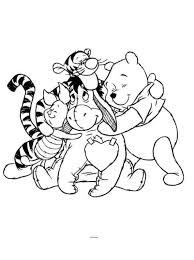 Kids N Fun Kleurplaat Winnie De Pooh Vriendjes