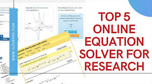 equation solver for research