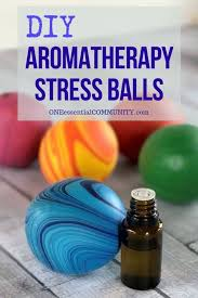 how to make aromatherapy stress