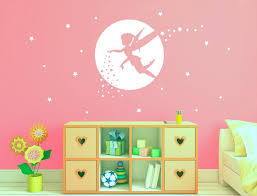Fairy Wall Sticker Fairy Wall Decal Girls Room Decor Etsy