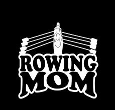 Rowing Mom Vinyl Or Glitter Vinyl Car Decal Sticker Etsy