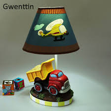 Cartoon Car Table Lamps For Children S Room Bedroom Bedside Lamp Boy Kids Baby Luminaire Modern Led Stand Desk Light Fixtures Led Table Lamps Aliexpress