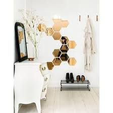 ikea decorative mirror wall tiles set