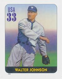 2000 33c Legends of Baseball: Walter Johnson for sale at Mystic Stamp  Company