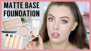 makeup revolution matte base