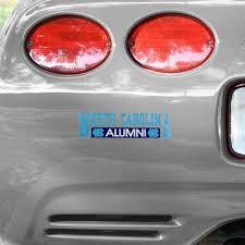 North Carolina Tar Heels Unc Alumni Car Decal