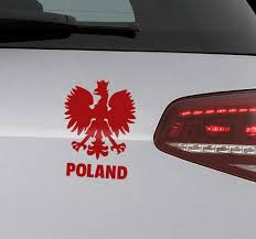 Poland Coat Of Arms Car Sticker Tenstickers
