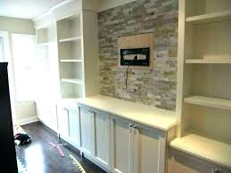 family room built in cabinets with