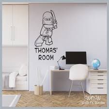 Free Uk Delivery Wall Stickers Decals Lego Ninjago Ninja Personali Walls Of Wisdom