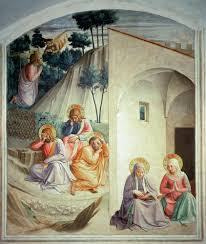 agony in the garden fra angelico