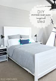Duo Ventures Sami S Big Boy Room Diy Pottery Barn Kids Inspired Bed