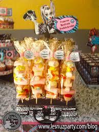 Cumpleanos De Monster High Una Fiesta Monstruosa Lesnuzparty