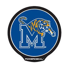 Memphis Powerdecal Is An Led Backlit Logo For Your Vehicle Window Featuring The University Of Memphis M Tiger Logo The Memphis Tigers Memphis Window Clips