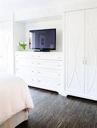 built in dresser with tv built in