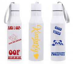 Fun Personalized Vinyl Stickers For Water Bottle Laptop Locker And Mirror Bottle Computer Vinyl Decal Personalised Vinyl Stickers