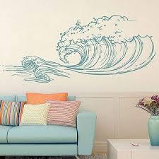 Wave Wall Decals Ocean Wave Wall Decals Ocean Beach Waves Wall Stickers Ocean Wa Beach Decals Ocean S Ocean Mural Beach Wall Decals Wall Stickers Ocean