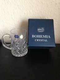 bohemia crystal glass mug beer tankard
