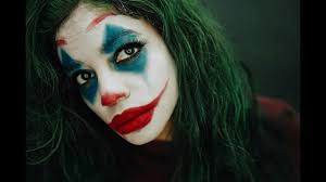 joker 2019 halloween makeup tutorial