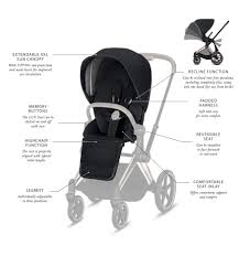cybex priam seat pack fashion spring
