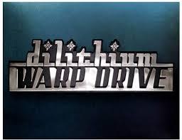 Dilithium Warp Drive Star Trek Car Emblem Chrome Plastic Not A Decal Sticke Amazon Co Uk Sports Outdoors