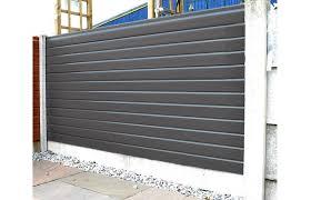 Upvc Plastic Liniar Fencing I Official Retailer Greenview Sheds Fences Ltd