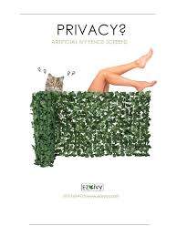 Homedecor Fencescreens Easyivy Ezivy Ez Ivy Homedepot Fence Screening Ivy Fence