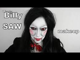 billy jigsaw saw makeup