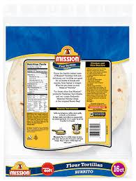 mission burrito flour tortillas 16