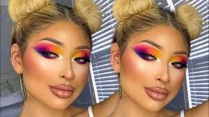 bright colorful makeup tutorial